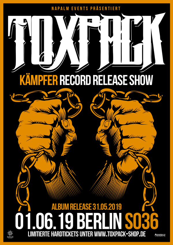 "Ticket ""Kämpfer"" Record Release Show - Berlin 01.06.19"