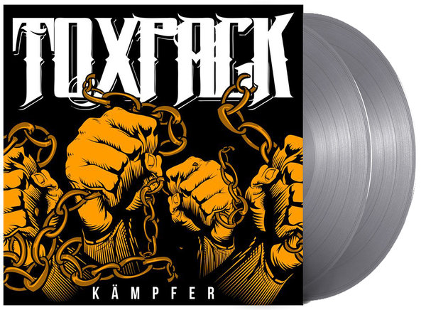 "TOXPACK ""Kämpfer"" 2-LP Silber (Limitierte Band Edition!)"